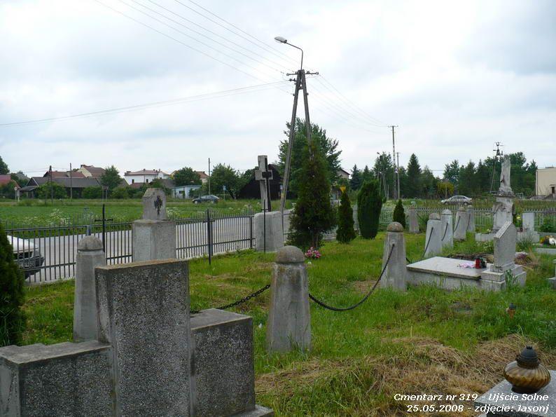 Cmentarz wojenny z I wojny nr 319 - Uście Solne (cm. parafialny)