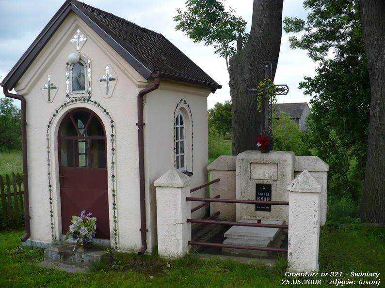 Cmentarz wojenny z I wojny nr 321 - Świniary