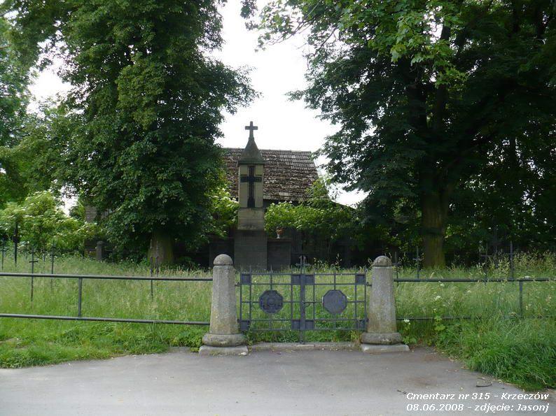 Cmentarz wojenny z I wojny nr 315 - Krzeczów