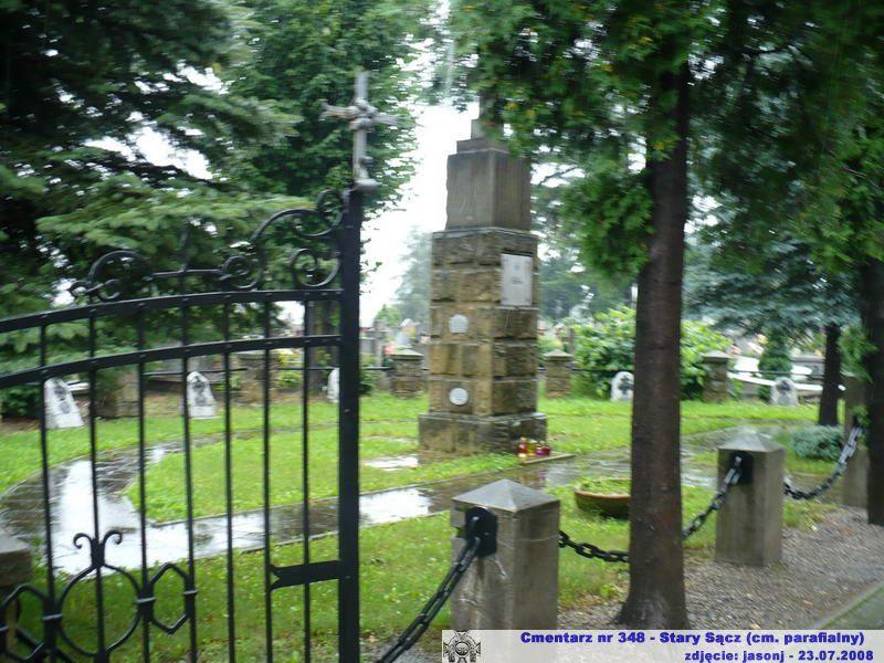 Cmentarz wojenny z I wojny nr 348 - Stary Sącz (cm. parafialny)