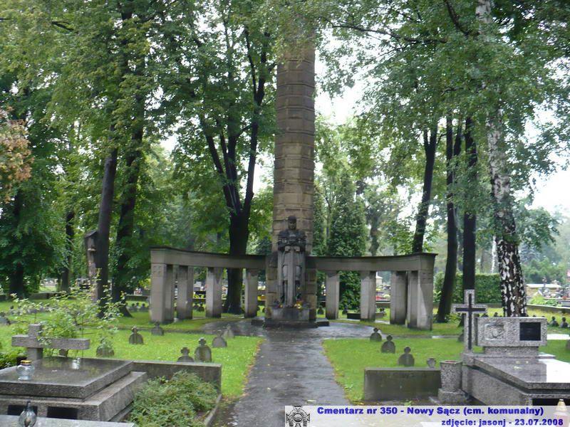 Cmentarz wojenny z I wojny nr 350 - Nowy Sacz (cm. komunalny)