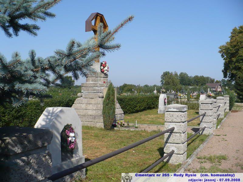 Cmentarz wojenny z I wojny nr 265 - Rudy Rysie (cm. parafialny)