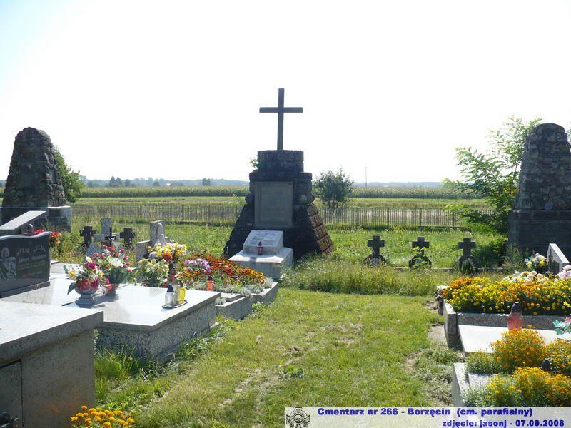 Cmentarz wojenny z I wojny nr 266 - Borzęcin (cm. parafialny)