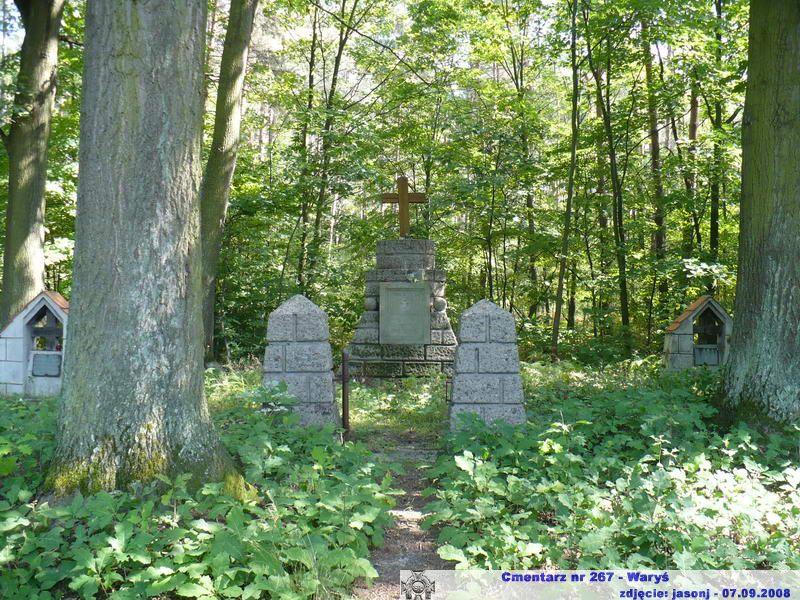 Cmentarz wojenny z I wojny nr 267 - Waryś