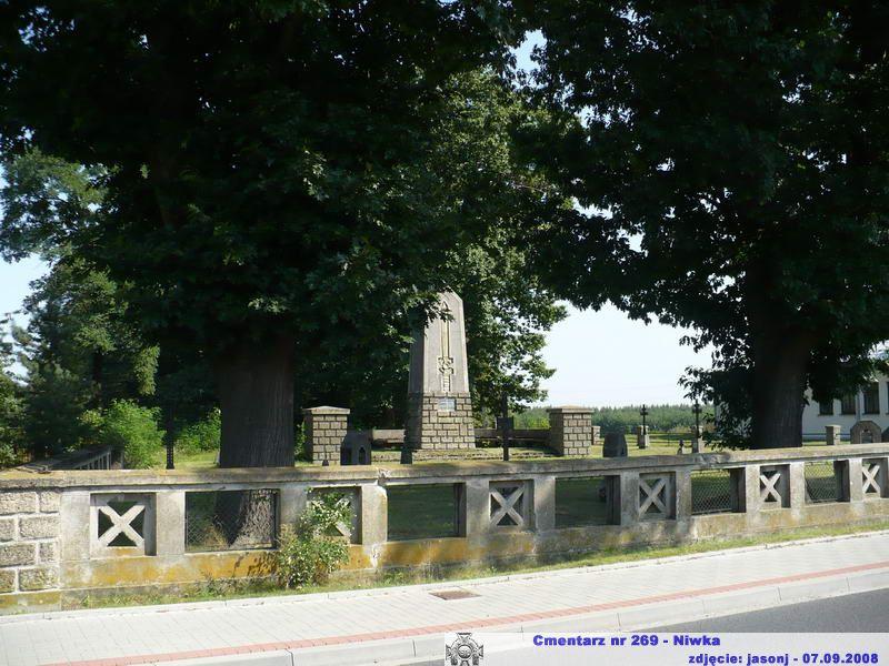 Cmentarz wojenny z I wojny nr 269 - Niwka
