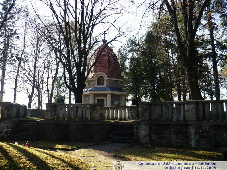 Cmentarz wojenny z I wojny nr 368 - Limanowa (Jabłoniec)