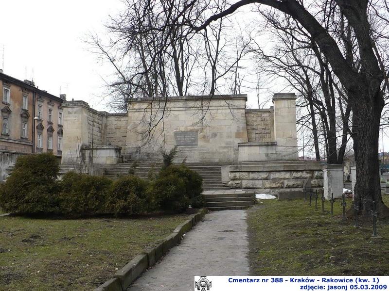 Cmentarz wojenny z I wojny nr 388 - Kraków (cm. Rakowicki)