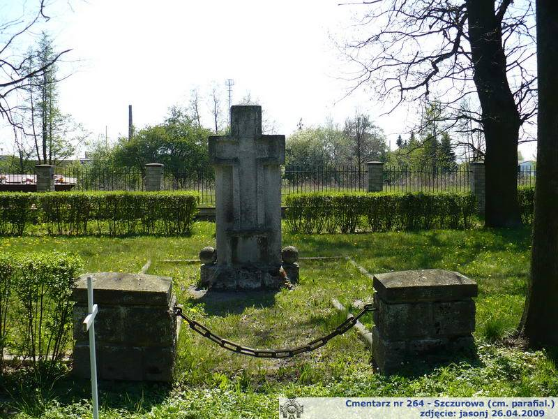 Cmentarz wojenny z I wojny nr 264 - Szczurowa (cm. parafialny)