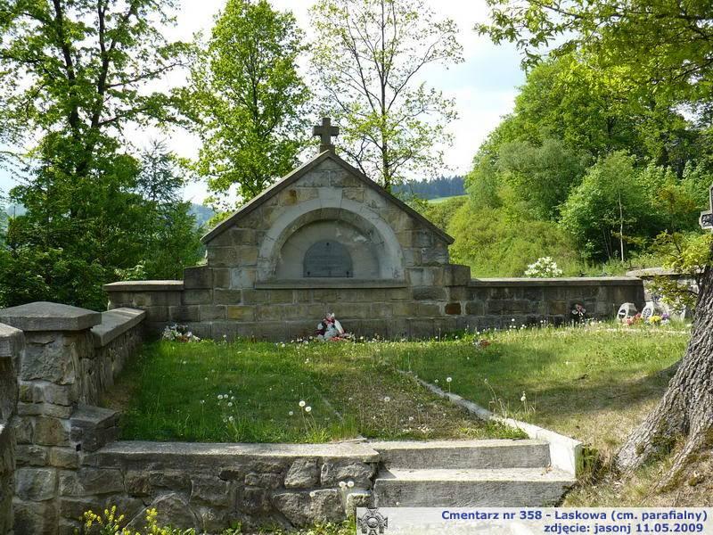 Cmentarz wojenny z I wojny nr 358 - Laskowa (cm. parafialny)