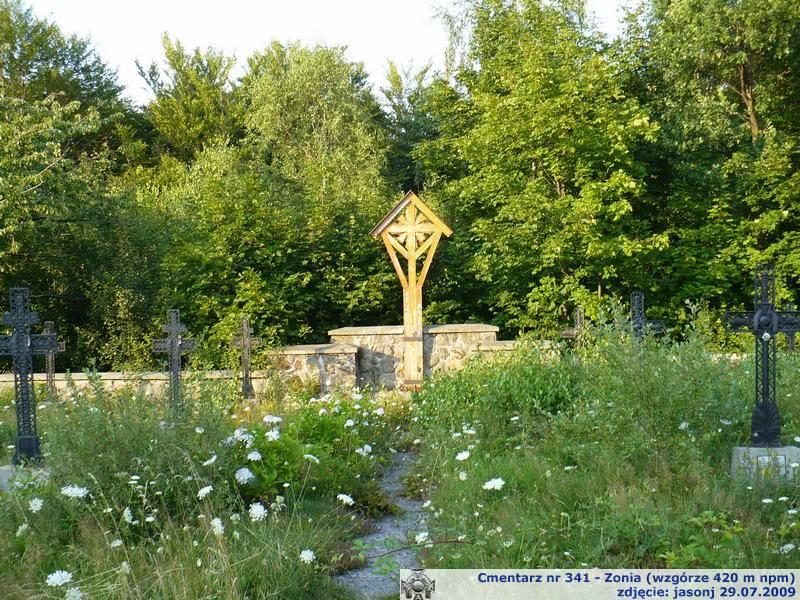 Cmentarz wojenny z I wojny nr 341 - Zonia (Wola Nieszkowska)