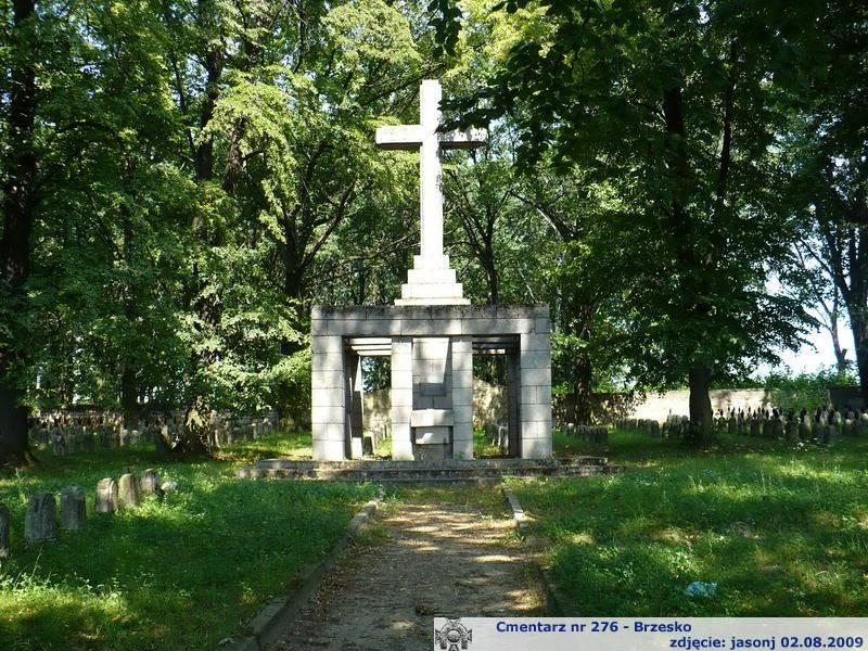 Cmentarz wojenny z I wojny nr 276 - Brzesko