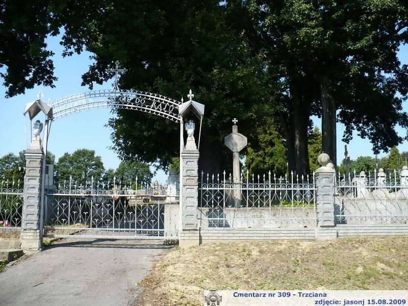 Cmentarz wojenny z I wojny nr 309 - Trzciana (cm. parafialny)