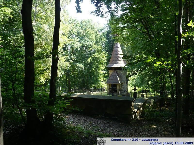 Cmentarz wojenny z I wojny nr 310 - Leszczyna