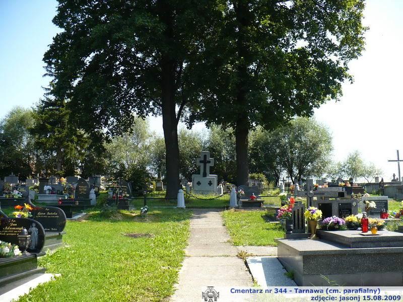 Cmentarz wojenny z I wojny nr 344 - Tarnawie (cm. parafialny)