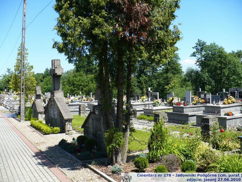 Cmentarz wojenny z I wojny nr 278 - Jadowniki Podgórne (cm. parafialny)