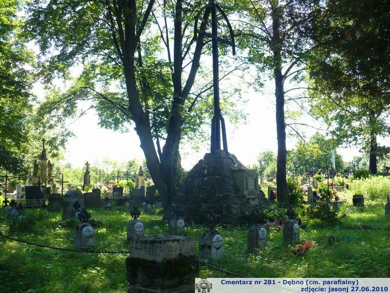 Cmentarz wojenny z I wojny nr 281 - Dębno (cm. parafialny)