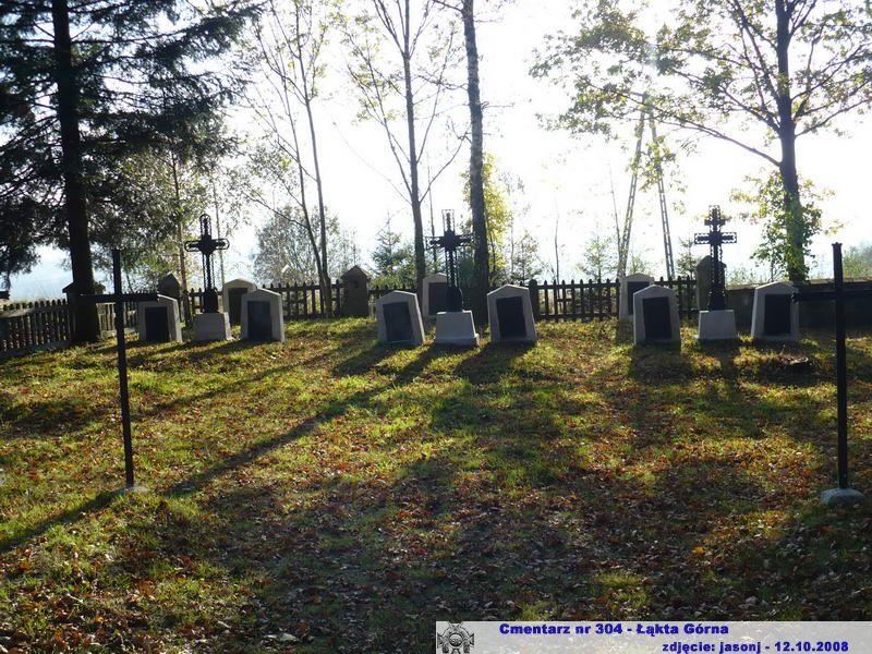 Cmentarz wojenny z I wojny nr 304 - Łąkta Górna