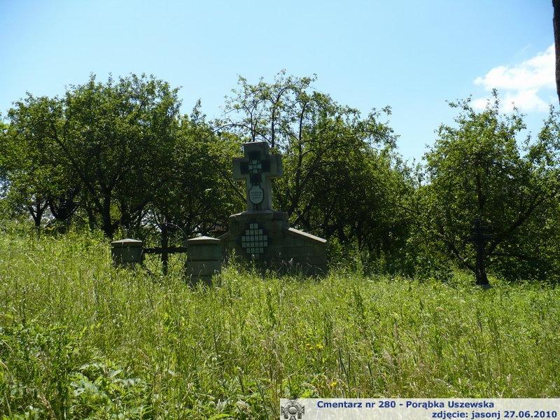 Cmentarz wojenny z I wojny nr 280 - Porąbka Uszewska