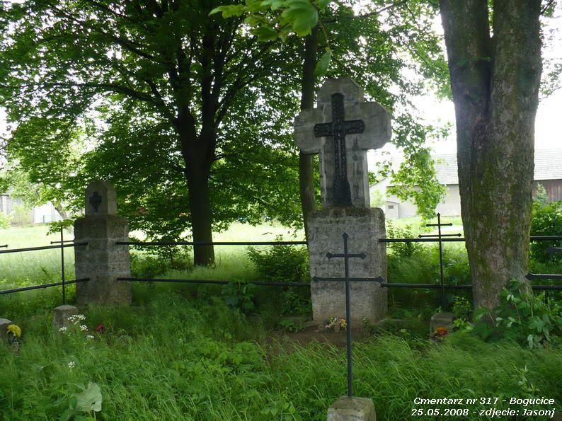 Cmentarz wojenny z I wojny nr 317 - Bogucice