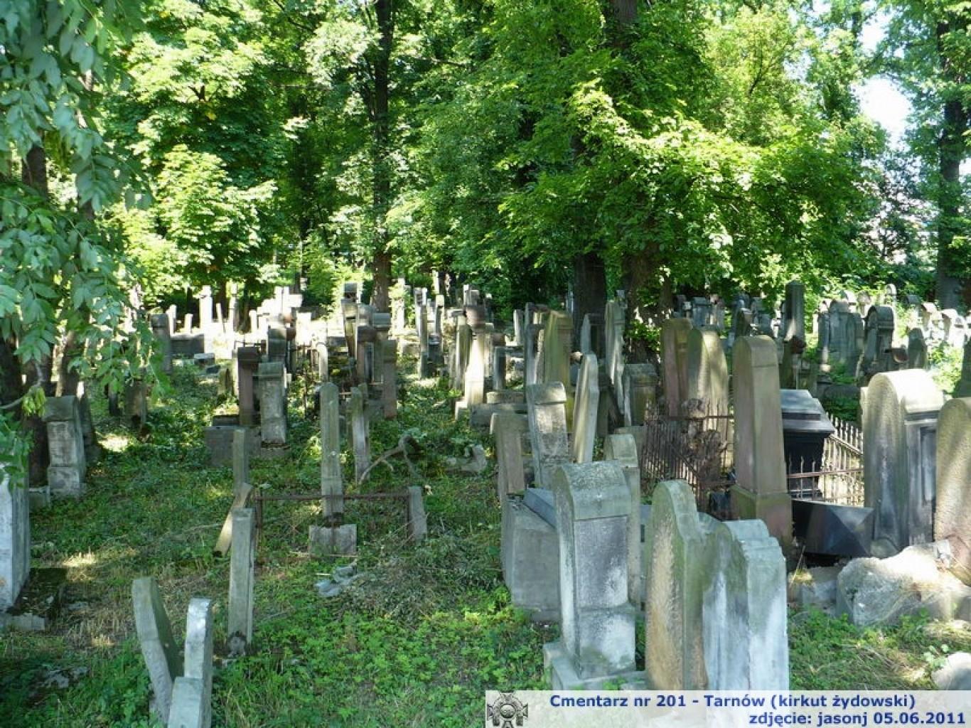 Cmentarz wojenny z I wojny nr 201 - Tarnów (kirkut żydowski)