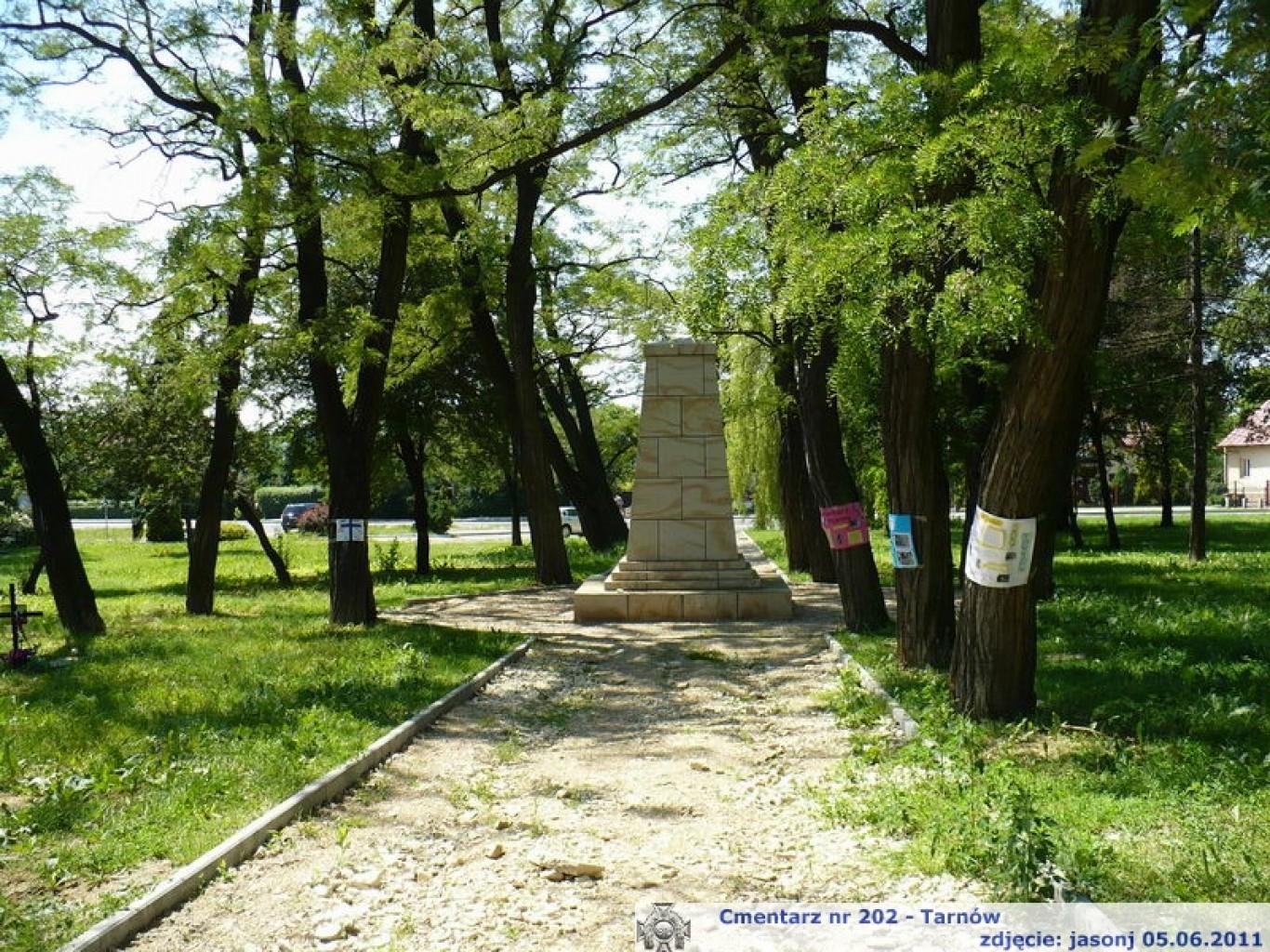 Cmentarz wojenny z I wojny nr 202 - Tarnów