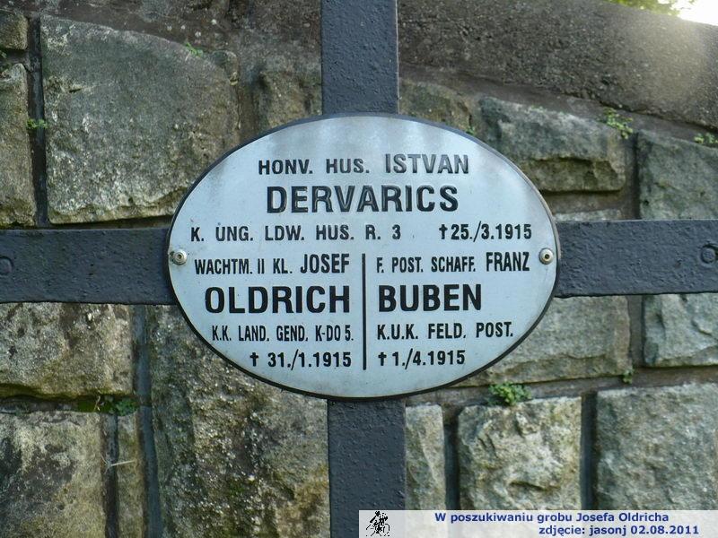 Poszukiwanie grobu Josefa Oldricha