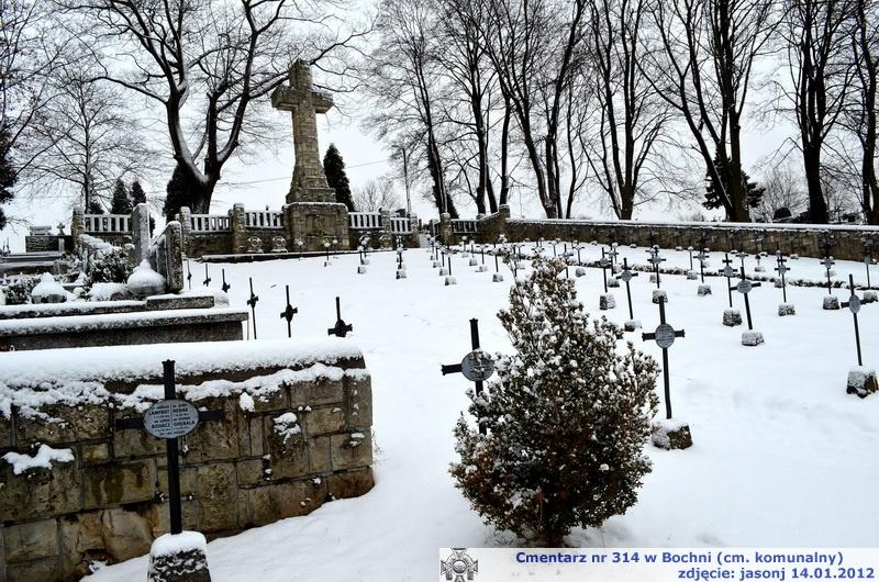 Cmentarz wojenny z I wojny nr 314 - Bochnia (cm. komunalny)