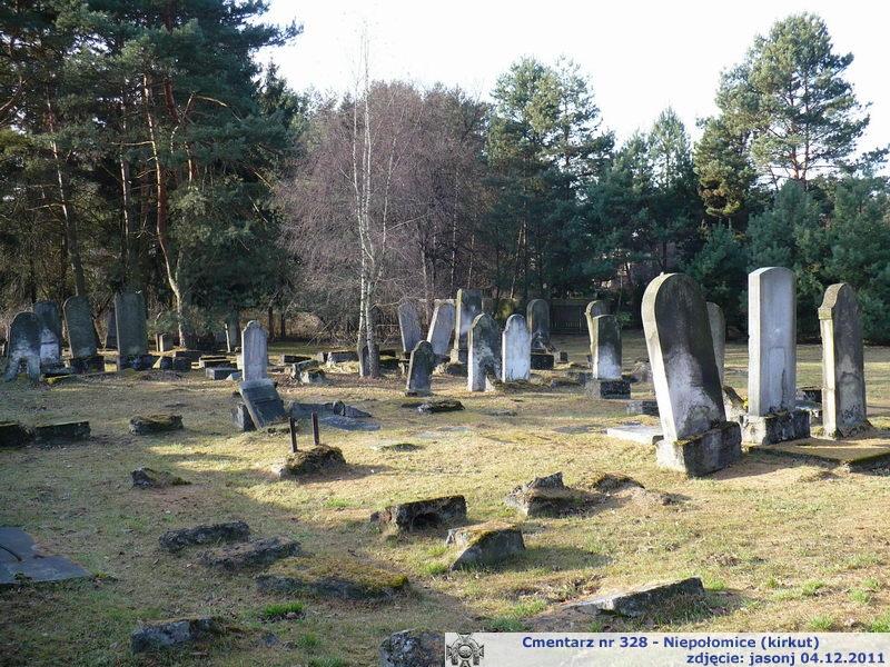 Cmentarz wojenny z I wojny nr 328 - Niepołomice (kirkut żydowski)