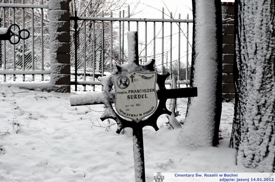 Krzyże Szczepkowskiego na cmentarzu Św. Rozalii w Bochni?