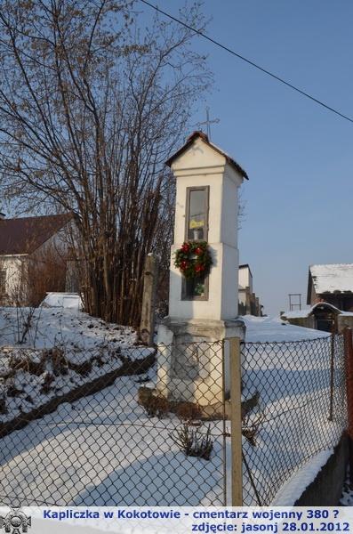 Cmentarz wojenny 380 - Kokotów