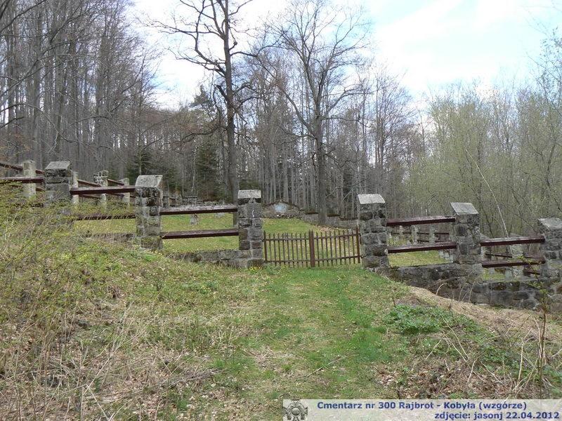 Cmentarz wojenny z I wojny nr 300 - Rajbrot - Kobyła
