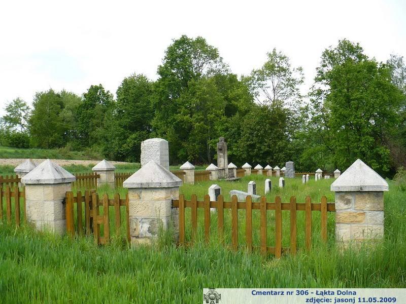 Cmentarz wojenny z I wojny nr 306 - Łąkta Dolna
