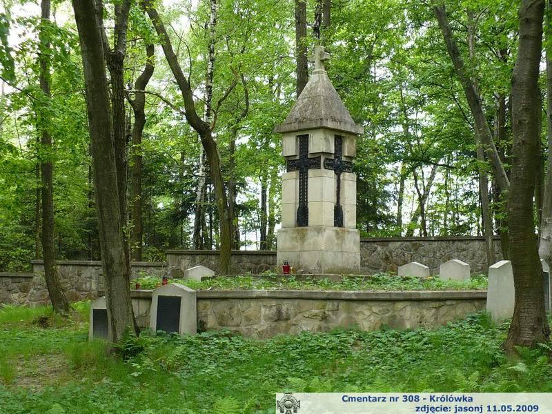 Cmentarz wojenny z I wojny nr 308 - Królówka