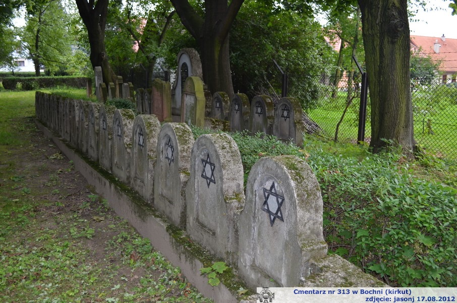 Cmentarz wojenny z I wojny nr 313 - Bochnia (kirkut żydowski)
