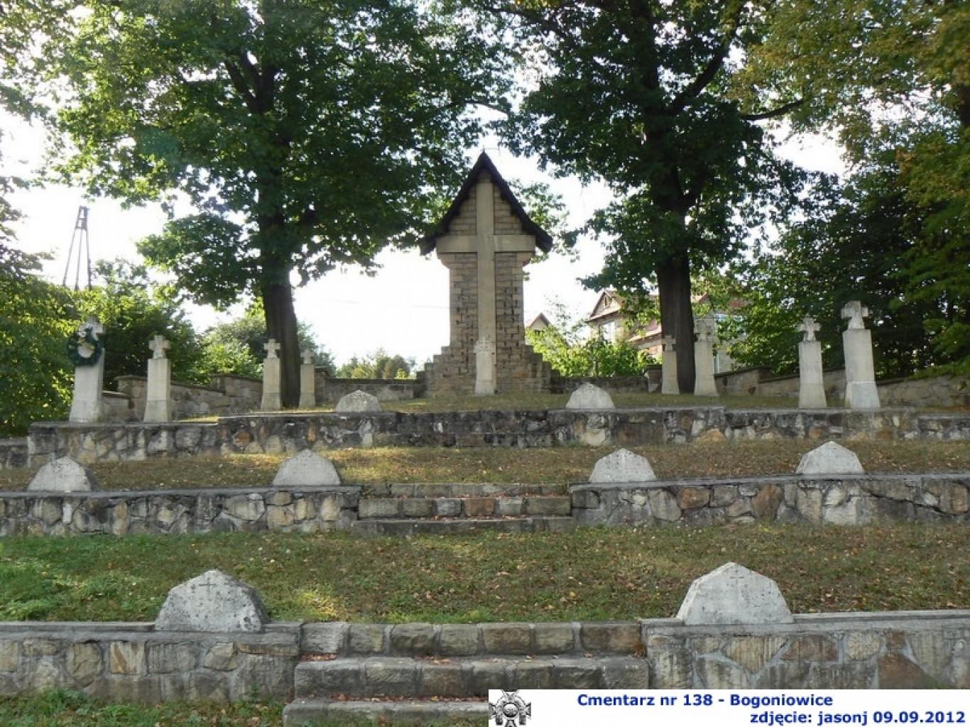 Cmentarz wojenny z I wojny nr 138 - Bogoniowice