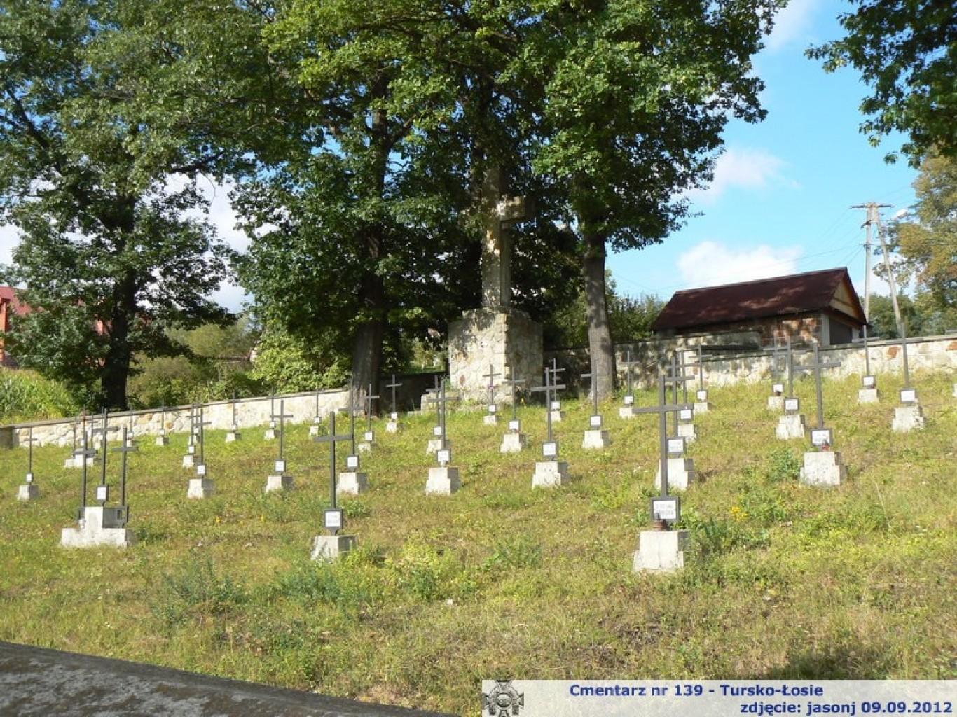 Cmentarz wojenny z I wojny nr 139 - Tursko-Łosie