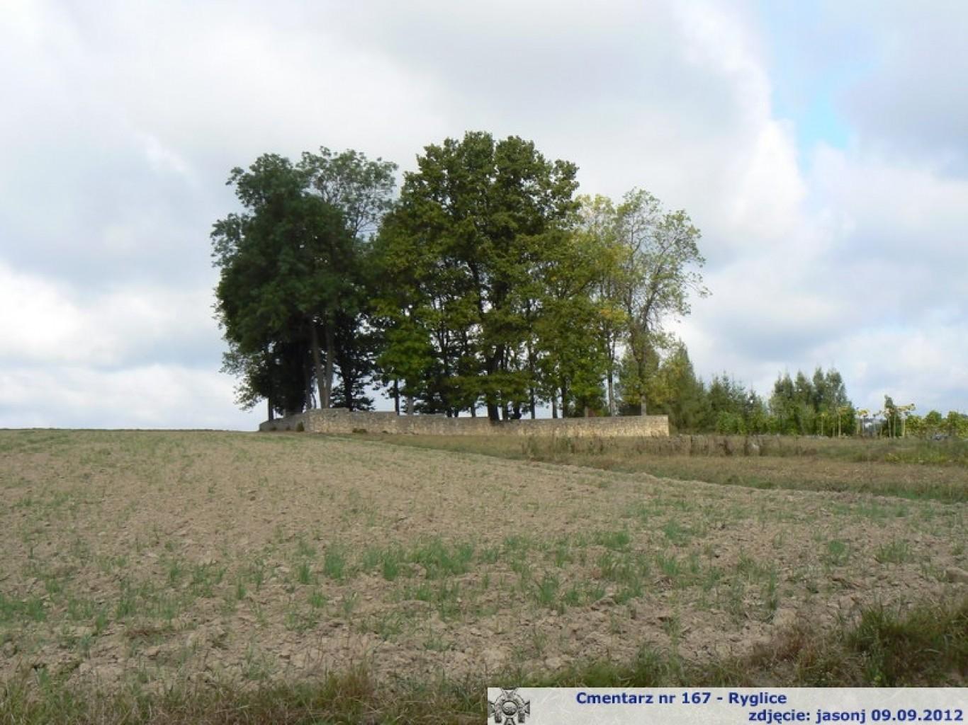 Cmentarz wojenny z I wojny nr 167 - Ryglice
