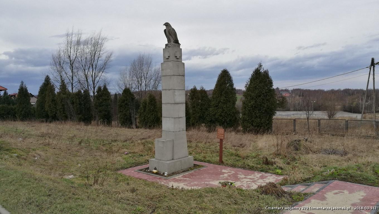 Cmentarz wojenny z I wojny nr 379 - Ochmanów