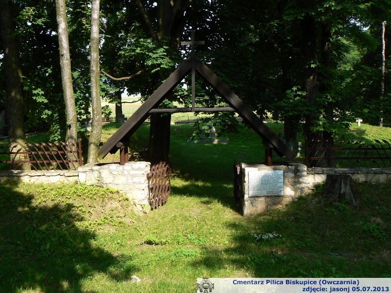 Cmentarz wojenny z I wojny  - Pilica Biskupice
