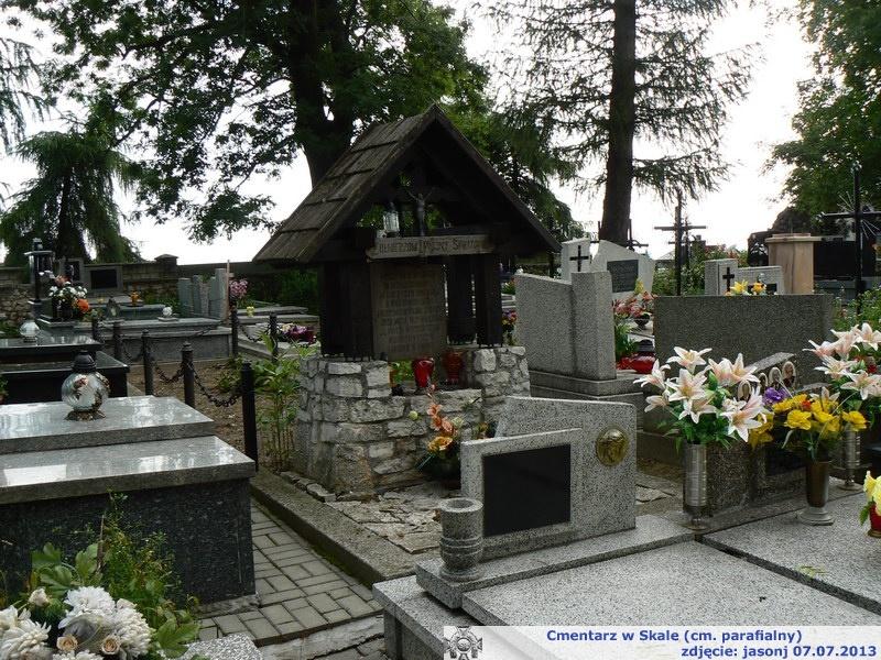 Cmentarz wojenny z I wojny  - Skała (cmentarz parafialny)