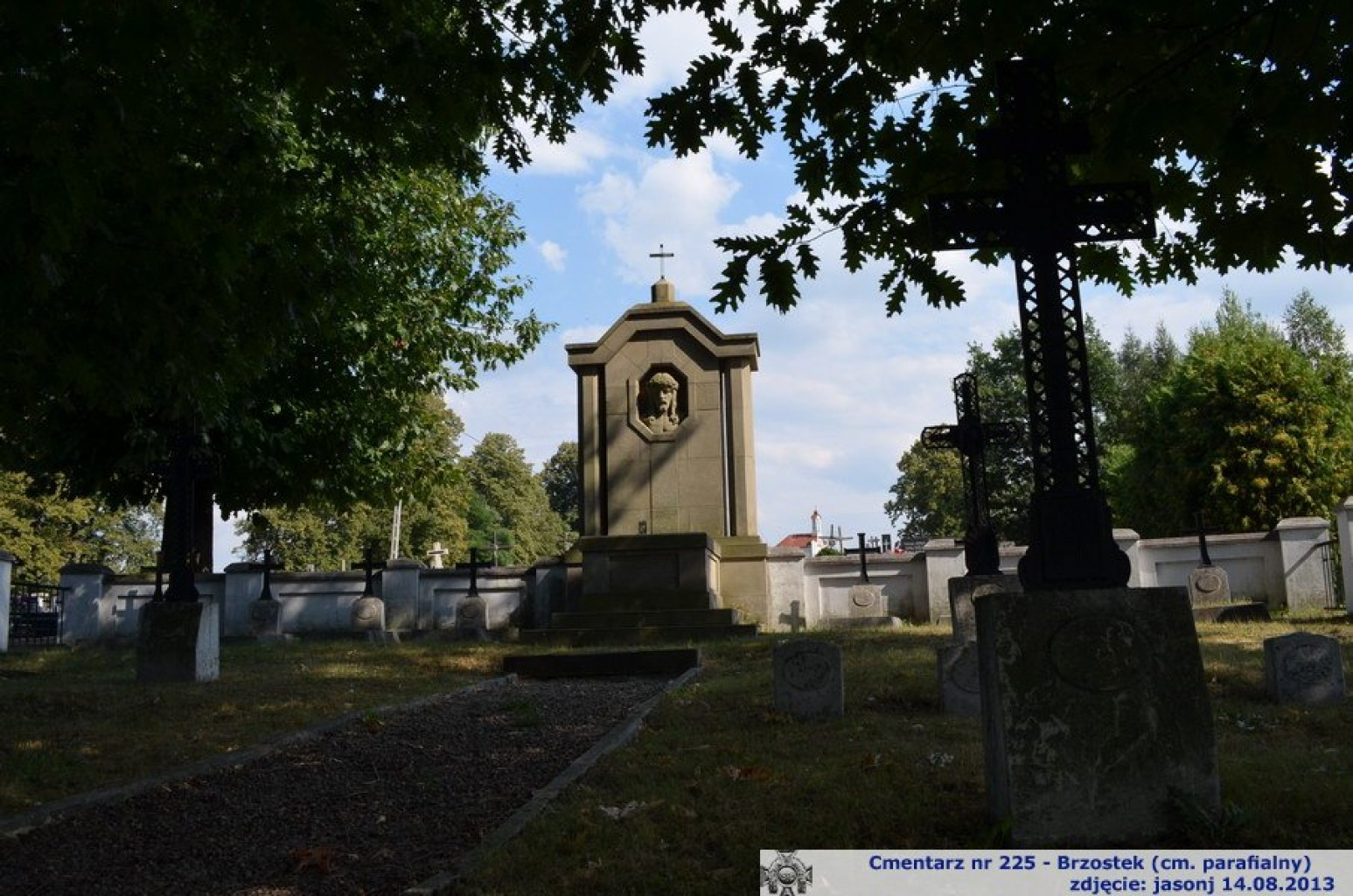 Cmentarz wojenny z I wojny nr 225 - Brzostek (cm. parafialny)