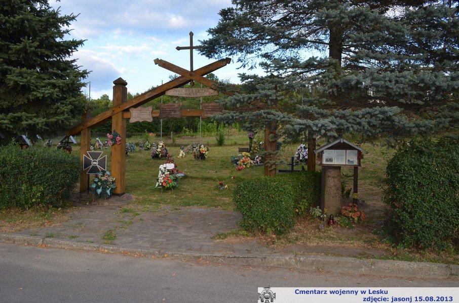 Cmentarz wojenny z I wojny - Lesko