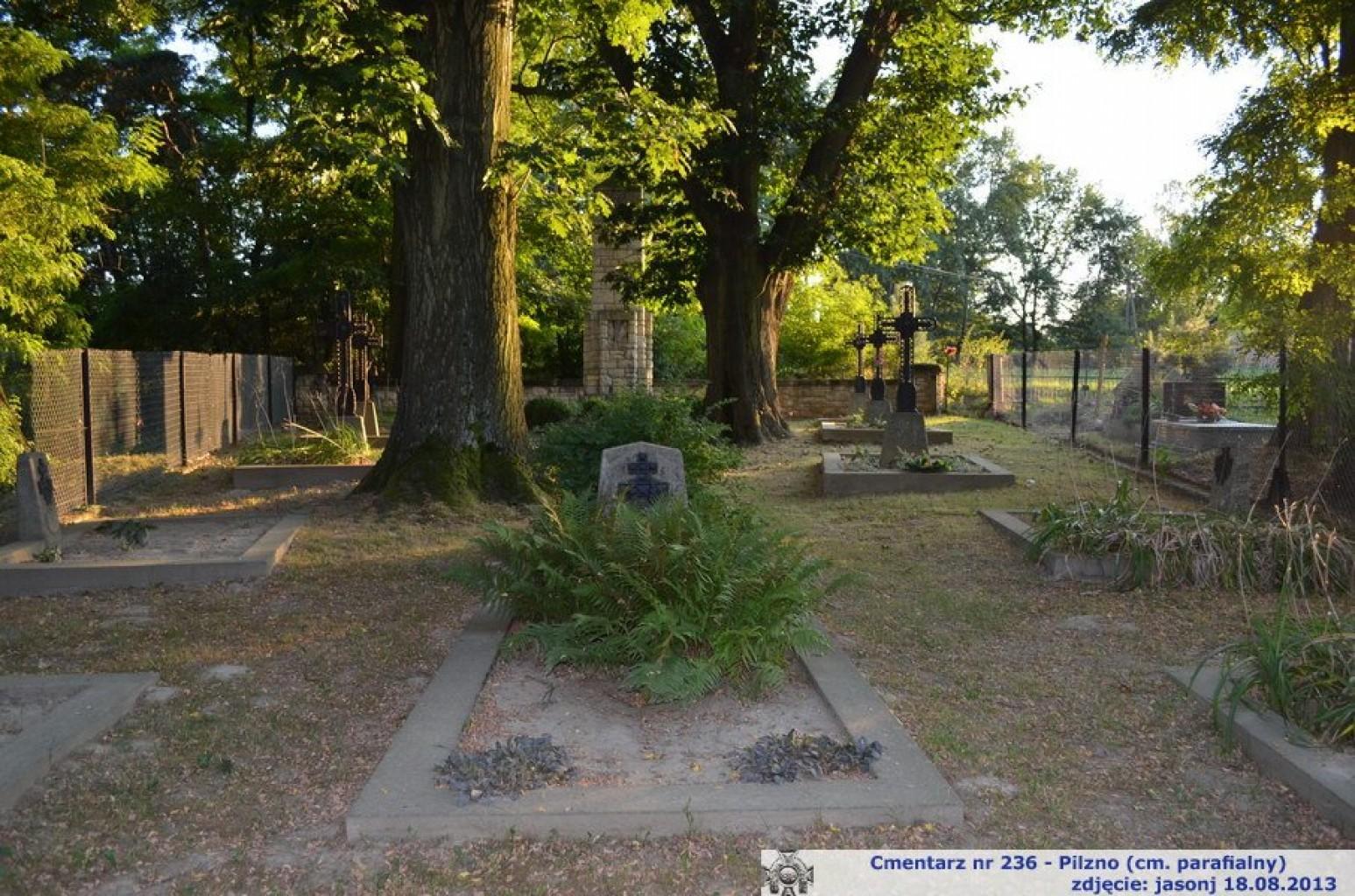 Cmentarz wojenny z I wojny nr 236 - Pilzno (cm. parafialny)
