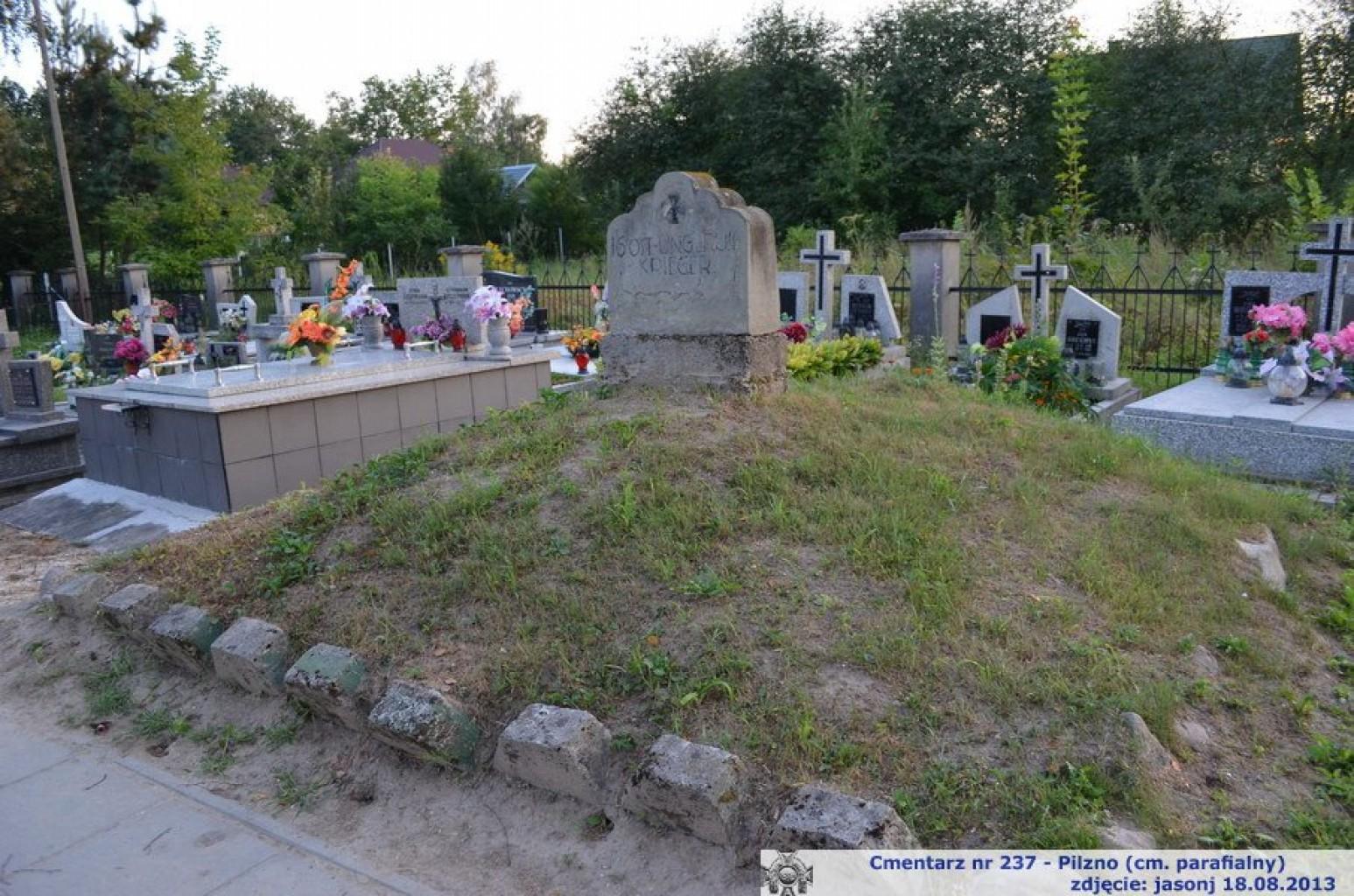 Cmentarz wojenny z I wojny nr 237 - Pilzno (cm. parafialny)