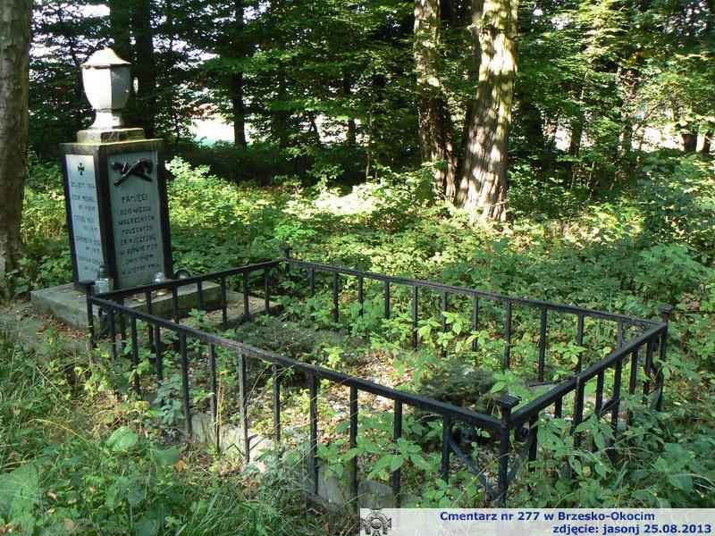 Cmentarz wojenny z I wojny nr 277 - Brzesko-Okocim