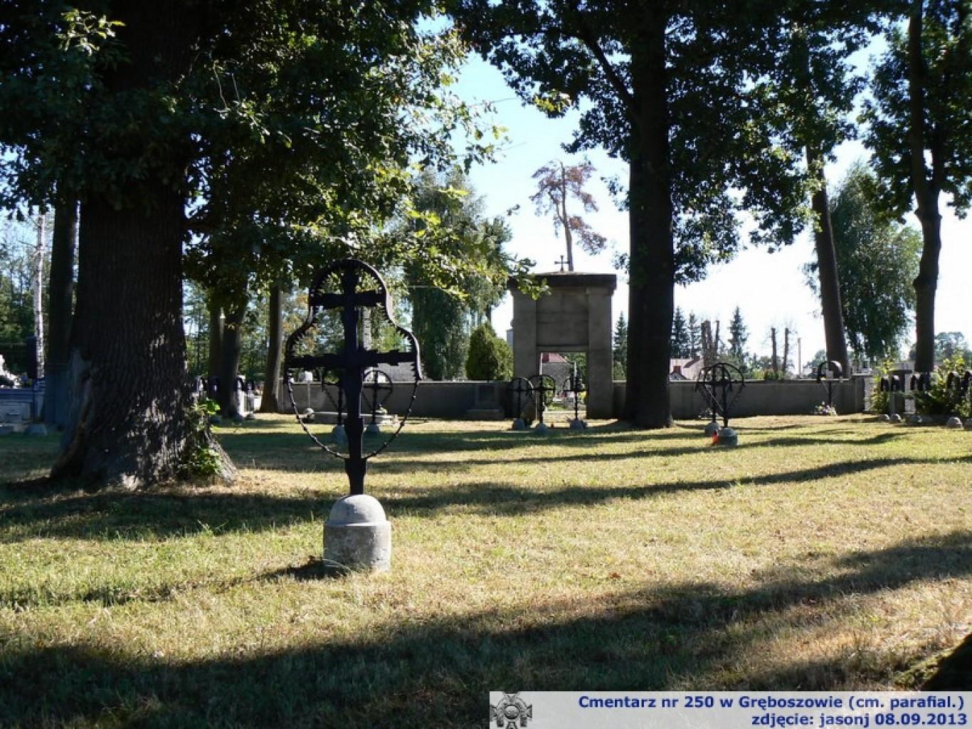 Cmentarz wojenny z I wojny nr 250 - Gręboszów (cmentarz paraf.)
