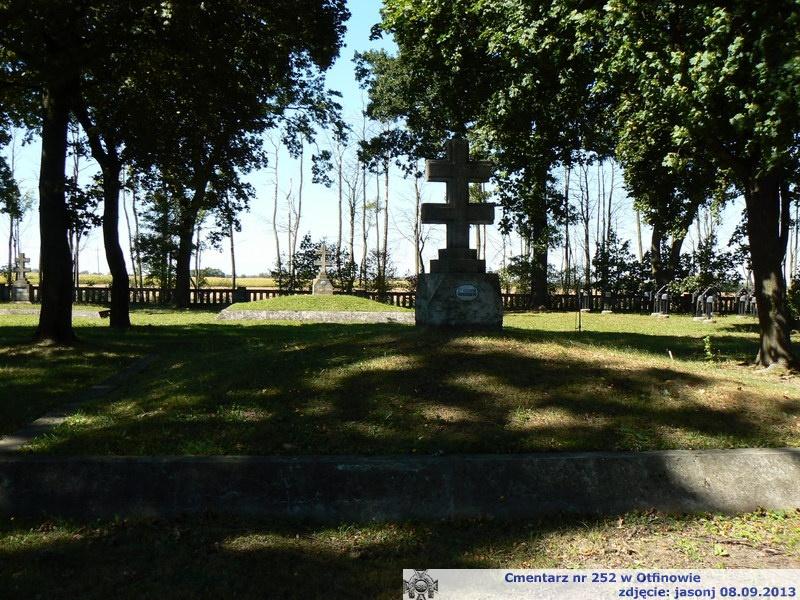 Cmentarz wojenny z I wojny nr 252 - Otfinów
