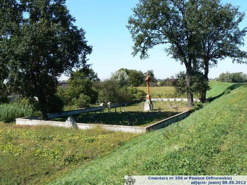 Cmentarz wojenny z I wojny nr 256 - Pasieka Otfinowska