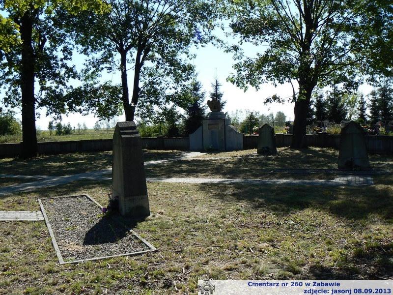 Cmentarz wojenny z I wojny nr 260 - Zabawa