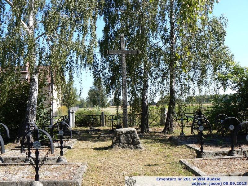 Cmentarz wojenny z I wojny nr 261 - Wał Ruda
